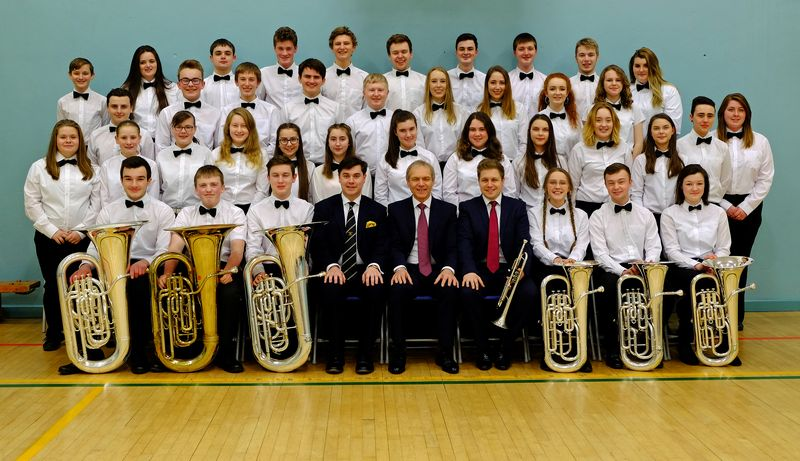 The Cornwall Youth Brass Band - Christmas 2017